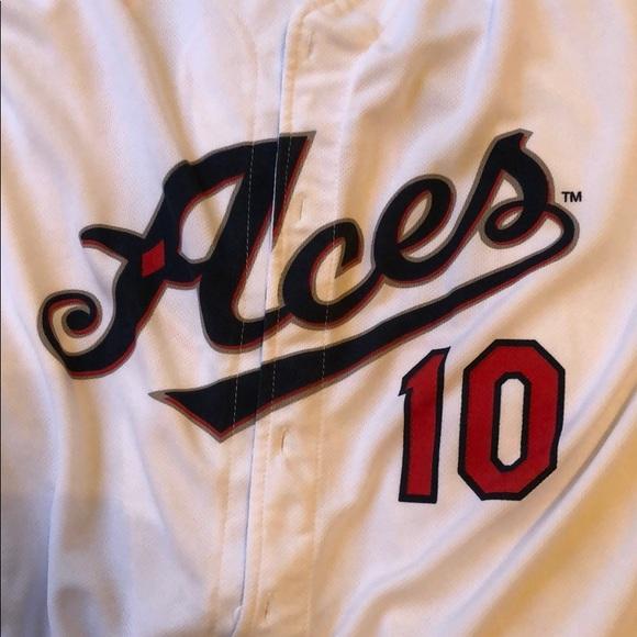 Reno Aces AAA White Baseball Jersey